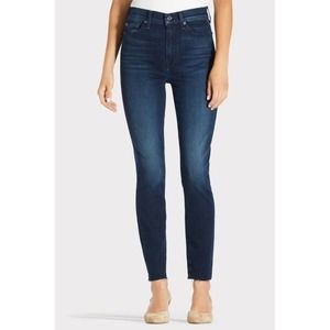 7 For All Mankind High Waist Ankle Skinny 24